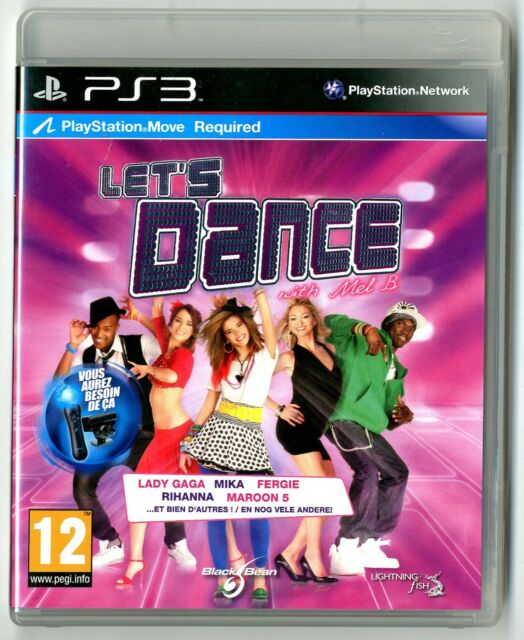 JEU PS3 ★ LET'S DANCE ★ COMPLET ★ SONY PLAYSTATION 3