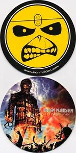 IRON-Maiden-The-Wicker-Man-PROMO-only-Beermat