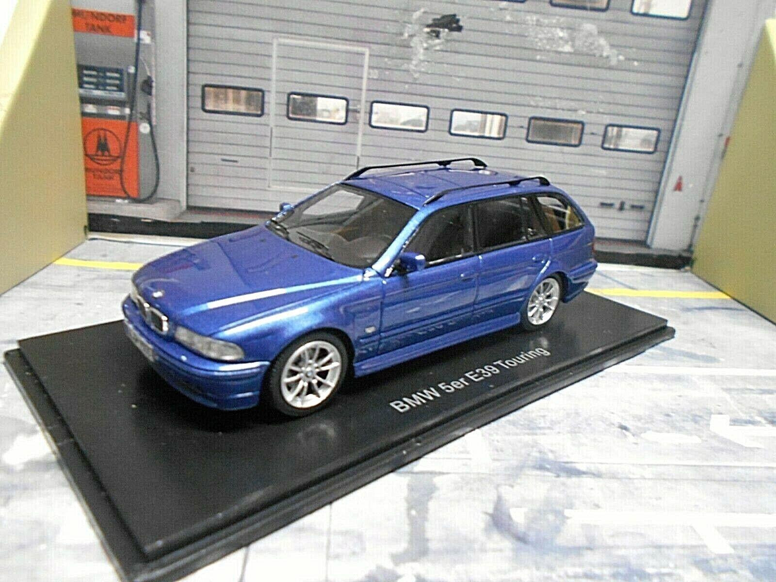 BMW 520i 520 5er 5er 5er Touring Kombi E39 blau Blau met 2002 NEO Highenddet Resine 1 43 b5245f