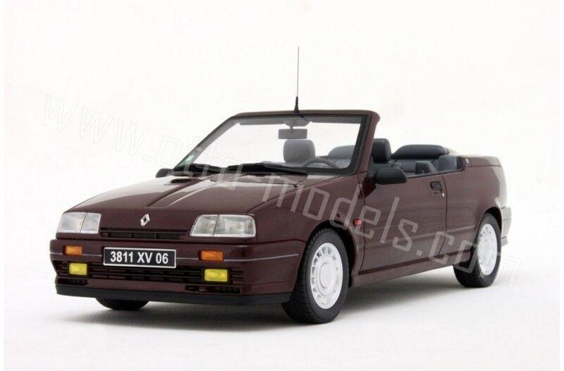 Venta en línea de descuento de fábrica Otto Mobile 1 18 OT079 OT079 OT079 Renault 19 16S Cabrio Rojo Lim. 1250 Piezas Nuevo  descuento de ventas