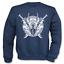 Sweatshirt Pullover Wikinger mit Raben und Schwert