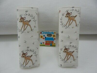 Bambi Cameo Child Seat Belt Strap Covers Car Highchair Stroller Pram