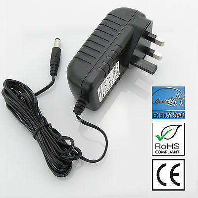 12V Iomega MDHD500-UE External hard drive replacement power supply adaptor