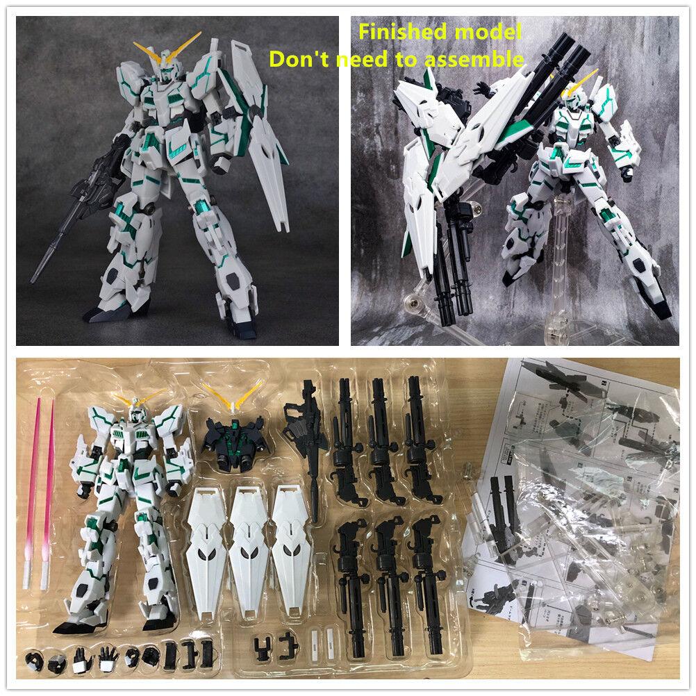 Baofeng model Robot Spirits RX-0 Unicorn 3 Shields Funnel Gundam Finished model