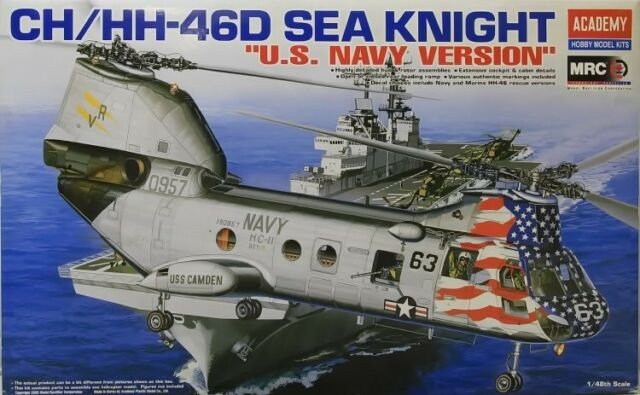 1//48 CH-46 HH-46 Landing Gear 48259  for Academy