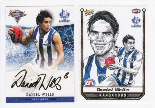 2007 SELECT CHAMPIONS SKETCH AND SIGNATURE CARDS DANIEL WELLS