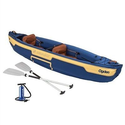 Faithful Coleman Ogden Tm 2 Person Canoe Combo Inflatable 768-2000014328 Durable Modeling Water Sports