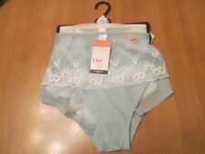 Marks & Spencer SALE 2 pack short style knickers 1 x mint 1 x cream size 22