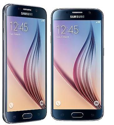 New Samsung Galaxy S6 SM-G920F 5.1'' 4G 16MP (FACTORY UNLOCKED) 64GB Black Phone