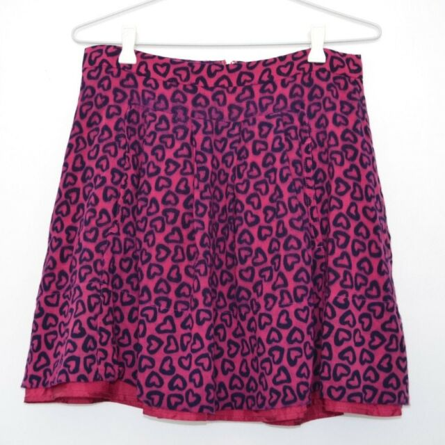 MARC by Marc Jacobs skirt pink hearts pockets US 6 AUS 10
