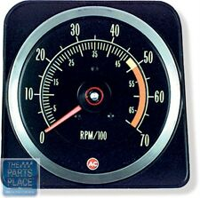 1969 Chevrolet Camaro SS350 Dash Tachometer Tach 5000 RPM