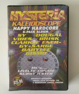 Rave Tape 8 Pack Old Skool Techno Hysteria 22 Kaleidoscope Happy Hardcore 1998