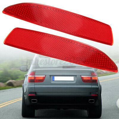Left /& Right Rear Bumper Reflector for BMW E70 X5 2007-2013 63217158949 63217158950 Bumper Reflector