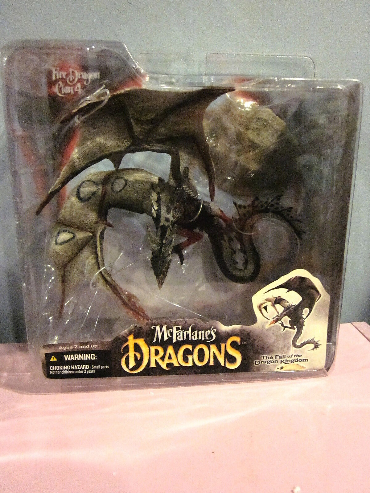 McFarlane's Dragons 2006 Fire Dragon Clan 4