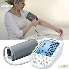 Beurer BM49 UpperArm Talking Digital Blood Pressure Monitor Arrhythmia detection