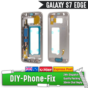 Details about Samsung Galaxy S7 Edge Middle Frame Outer Bumper Housing  Replacement Buttons