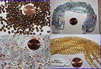 4mm - 300 Beads Fire Polished Czech Glass Beads Many Colors