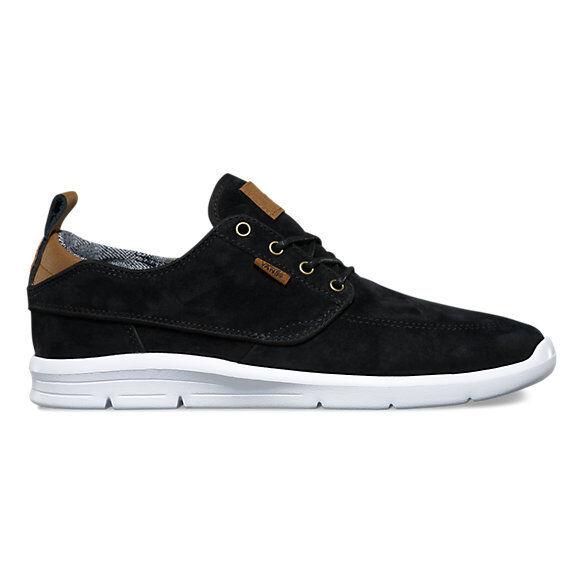 172ff6b7e0 VANS BRIGATA Lite S l Black White Casual Skate Shoes Size Men 8.5 Women 10  for sale online