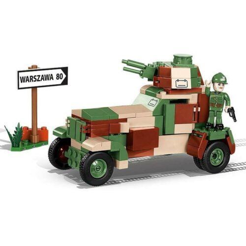 COBI 2393 Historical Collection WW2 Armored Car wz.34 253pcs