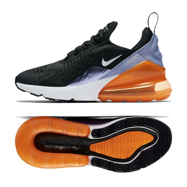 Nike Air Max 270 Sneaaker Ladies Shoes 943346-004 Black Leisure Shoe New