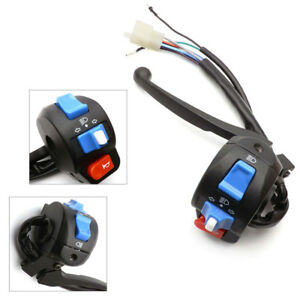 Details about For Left Light Switch Control Brake Lever GY6 50 150 Chinese  Scooter Moped Valid