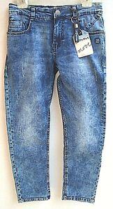 176 BIG UVP 39,95 € LEMMI Boys Jeans regular blue denim Gr 140