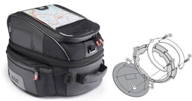CB 1300/S Motorcycle Givi Honda Tank Bag XS306 14-22Liter Tank Bag Ring BF03 New