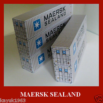 /'OO/' Shipping containers MAERSK x4