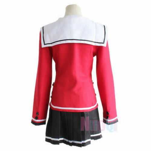 Anime Charlotte Tomori Nao Long Sleeve School Uniform Cosplay:FR22