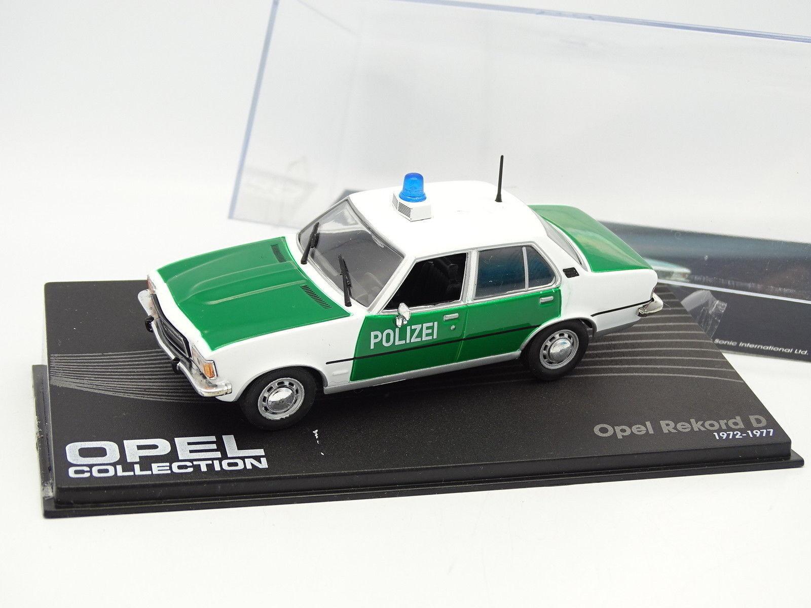 Stampa ixo 1   rekord 43 - opel rekord  d polizei 943879