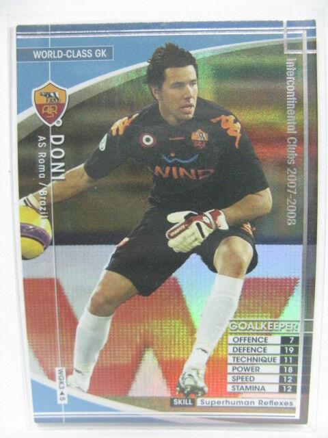 no Alberto Reala Raul 2006-2007 Japón Wccf como Roma Panini//Sega 295