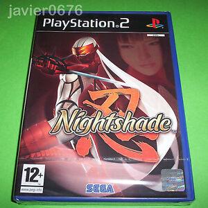 NIGHTSHADE-PAL-ESPANA-NUEVO-Y-PRECINTADO-PLAYSTATION-2