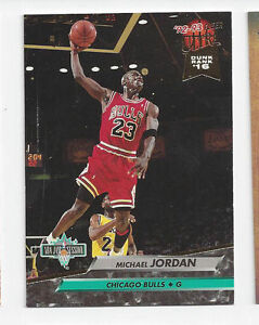 1992 Fleer Michael Jordan #216 Basketball Card