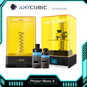ANYCUBIC 4K Imprimante 3D Photon Mono X résine UV || Wash and Cure 2.0 Machine