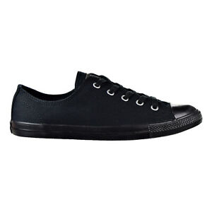 Details about Converse Chuck Taylor All Star Dainty Ox Women's Shoes  Black-Black 532354f