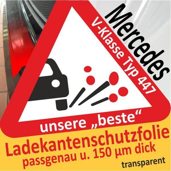Pour Mercedes Benz Classe V Vk Type 447 Film de Protection Pare-Chocs la