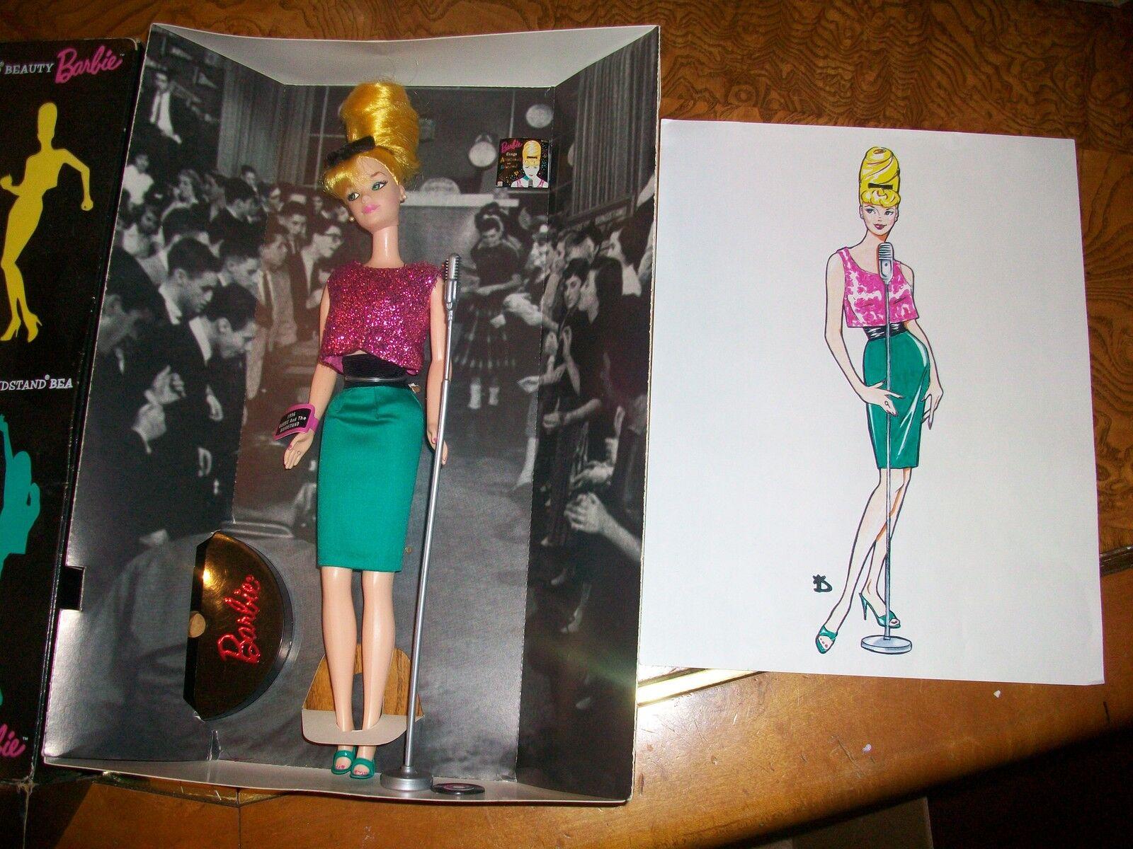 Raro duro encontrar 1996 quiosco de música belleza convención Barbie Firmado