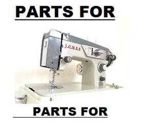 Original Jones Brother model 600 Sewing Machine Replacement Repair Parts