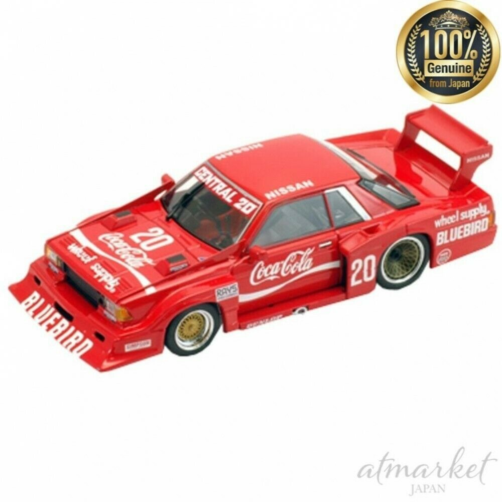 TOMYTEC Tomica Ebbro Mini Car 226857 Coca Cola blueebird 82' Red Super silhouette