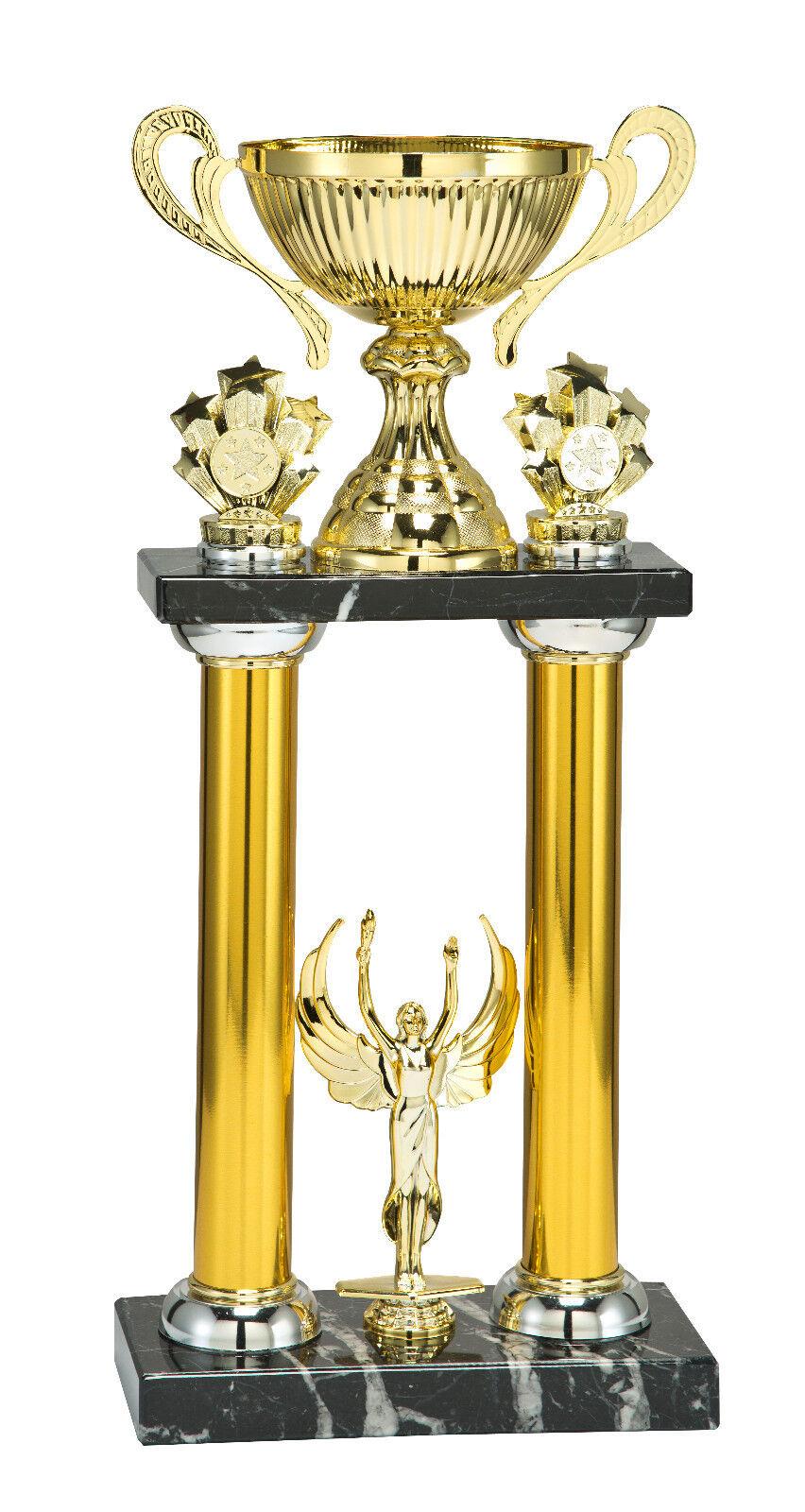 COPPA Trofeo D'oro 465mm GRANDE  Incisione Gratis  3 grandi dimensioni Award Presentazione