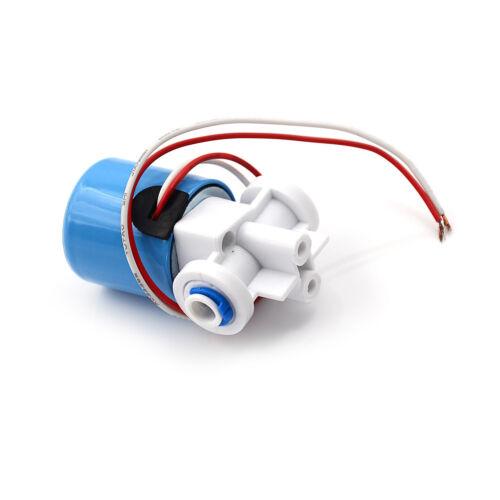 0-120PSI 24V DC G1//4 Magnetventil-Kunststoff Ventil-Normalerweise-GeschlossenePD