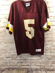 La foto se está cargando Vintage-Heath-Shuler-5-Washington-Redskins-Nfl -Logo- 0a806c38a