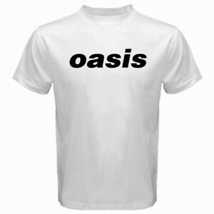New OASIS Logo Noel Galagher British Rock Band Men/'s Black T-Shirt Size S to 3XL