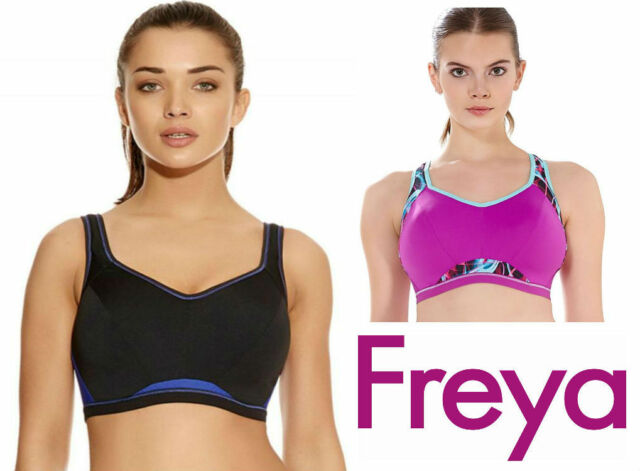39285f6d68 Freya Active Epic Sports Bra 4004 Underwired Moulded Crop Top New Sportswear