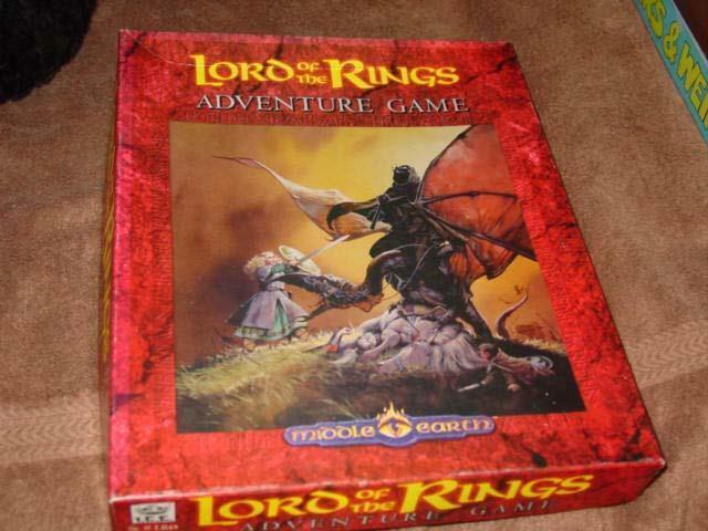 ICE - LotR Lord of the Rings  - Middle Earth Adventure gioco (UNCUT) Mint  Prezzo al piano