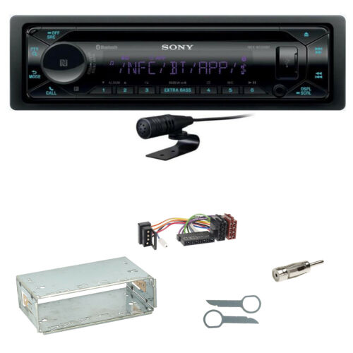 Sony mex-n5300bt Bluetooth USB CD Autoradio Kit de montage pour Mercedes Classe E w124