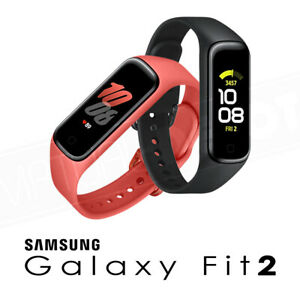 Samsung Galaxy Fit 2 (SM-R220) Bluetooth Active Tracker 5ATM Color Dysplay NEW!