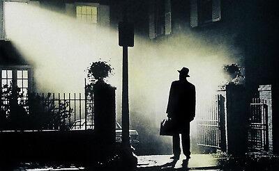Encadrée Imprimer-EXORCISTE 1973 Photo Affiche Film d/'horreur Poltergeist fantômes art