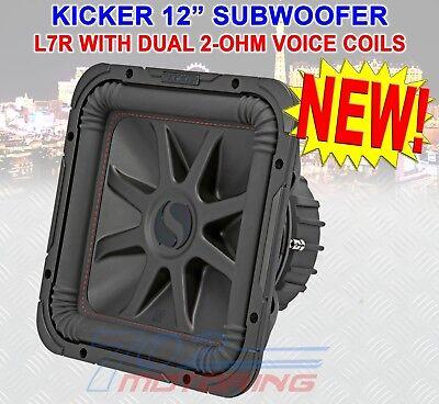 subwoofer Solo-Baric L7R122 DVC Kicker 45L7R122 L7R 1200 W 2 ohm Subwoofer per auto