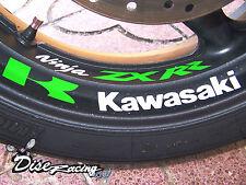 Pegatina vinilo Moto Vinyl  sticker kawasaki zxr r ninja llanta wheel rim strip